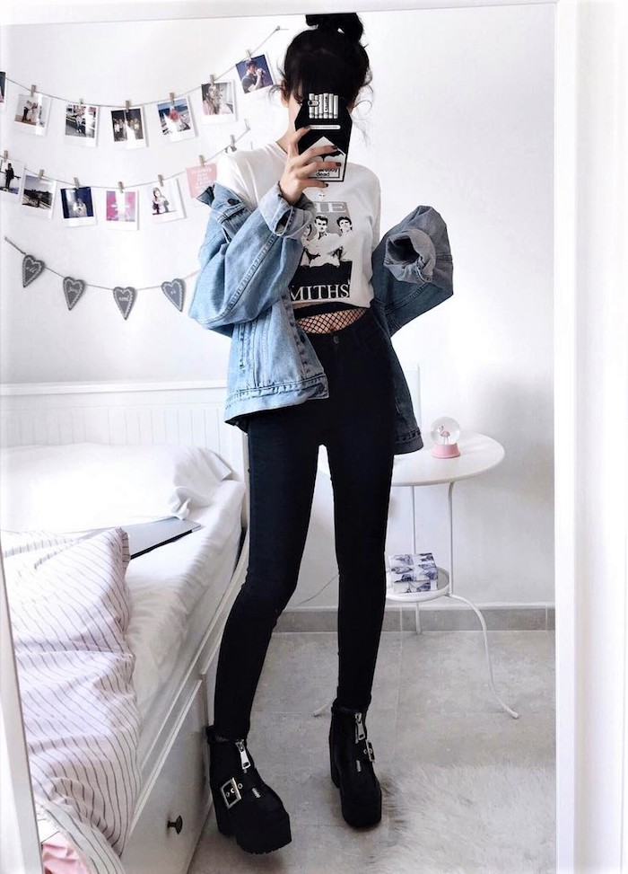 1001 Conseils Et Idees Pour Adopter Le Style Grunge Madame Tn