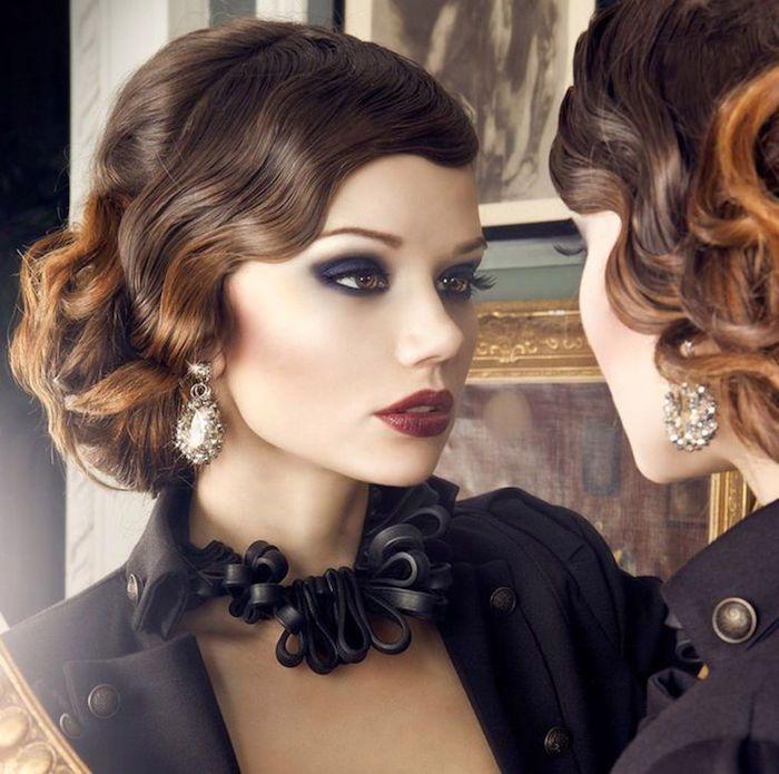 id e coiffure coiffure ann e 20 le style des ann es folles magazine f minin. Black Bedroom Furniture Sets. Home Design Ideas