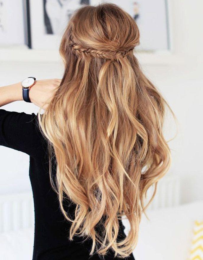id e coiffure 50 coiffures pour un mariage d t rep r es sur pinterest glamour. Black Bedroom Furniture Sets. Home Design Ideas