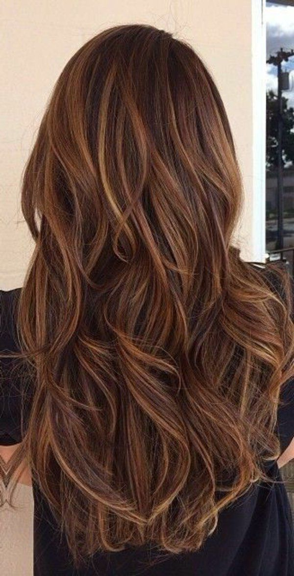 id e tendance coupe coiffure femme 2017 2018 brunette avec longs cheveux balayage fille. Black Bedroom Furniture Sets. Home Design Ideas