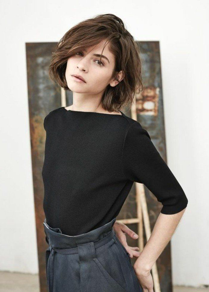 Idee Tendance Coupe Coiffure Femme 2017 2018 Excellente Coupe Cheveux Mi Long Jpg Madame Tn Magazine Feminin Numero 1 Mode Beaute Shopping Lifestyle