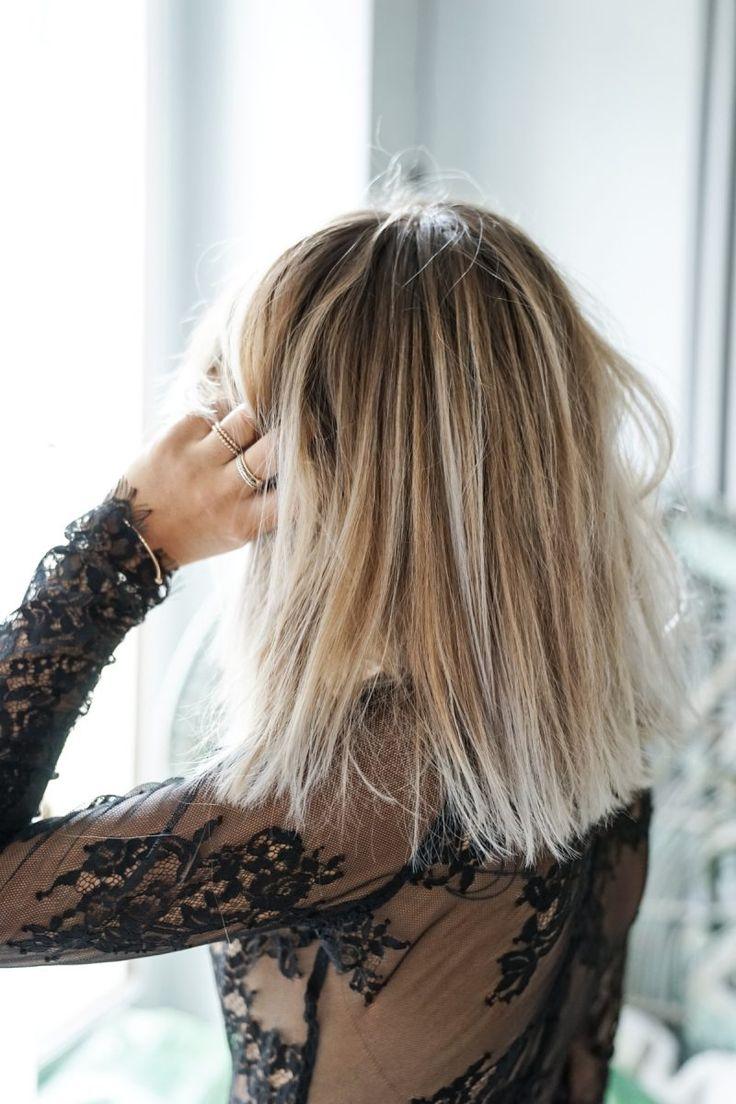 Id e tendance coupe coiffure femme 2017 2018 mes cheveux coupe couleur - Tendance coiffure 2017 2018 ...