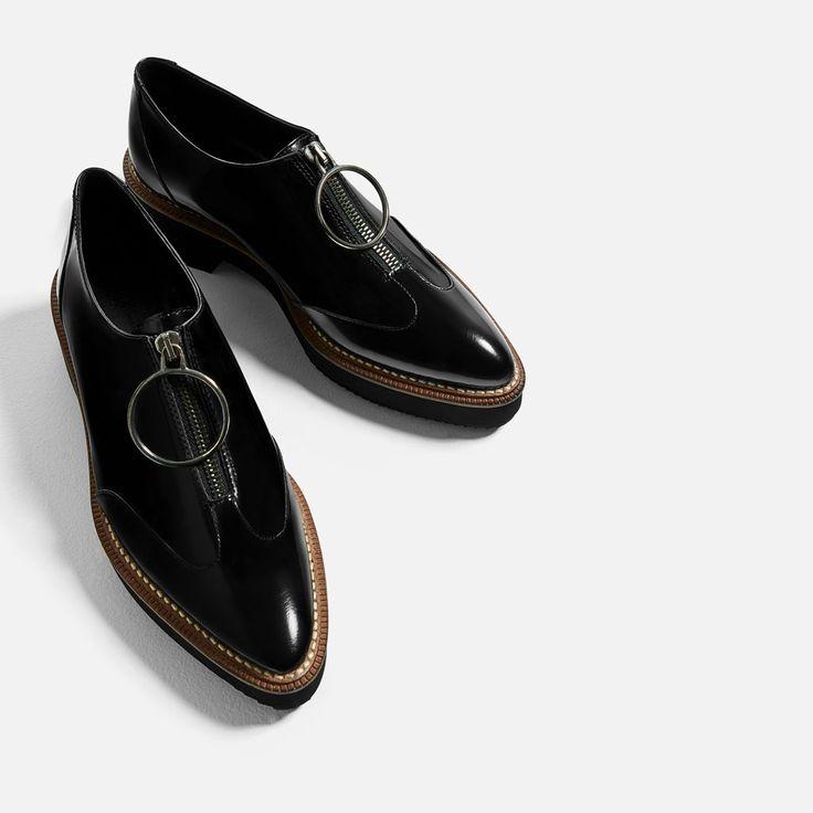 Zara Dress Oxford Shoes