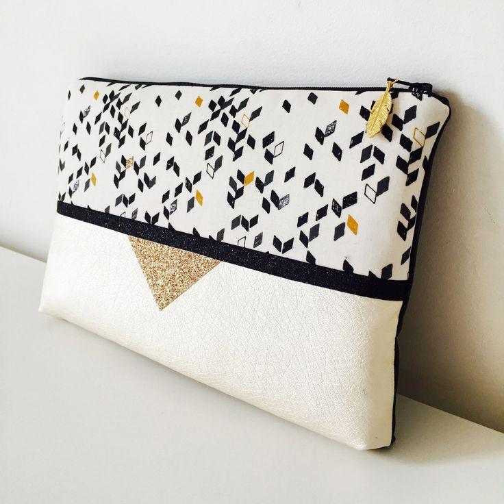 tendance sac femme 2017 2018 pochette de jour et de soir e rock 26 x 17 cms tissu aux motifs. Black Bedroom Furniture Sets. Home Design Ideas
