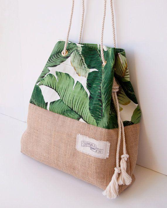 tendance sac femme 2017 2018 un sac de plage inspir des tropiques ou mon fourre tout estival. Black Bedroom Furniture Sets. Home Design Ideas