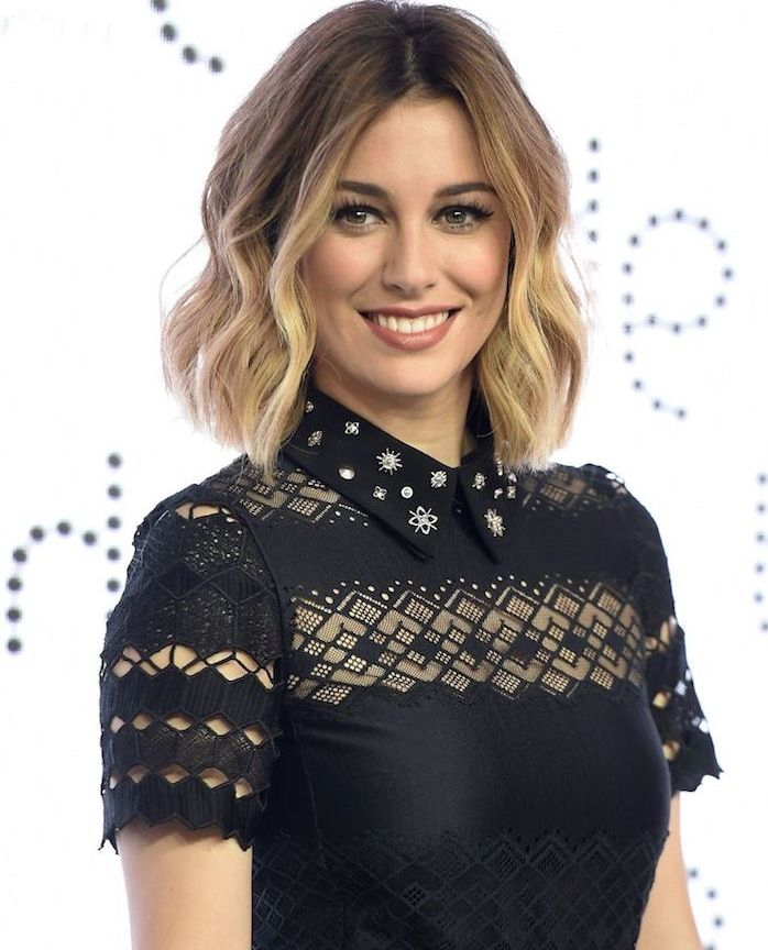 id e coiffure balayage californien brune blanca suarez coiffure c l brit femme aux cheve. Black Bedroom Furniture Sets. Home Design Ideas