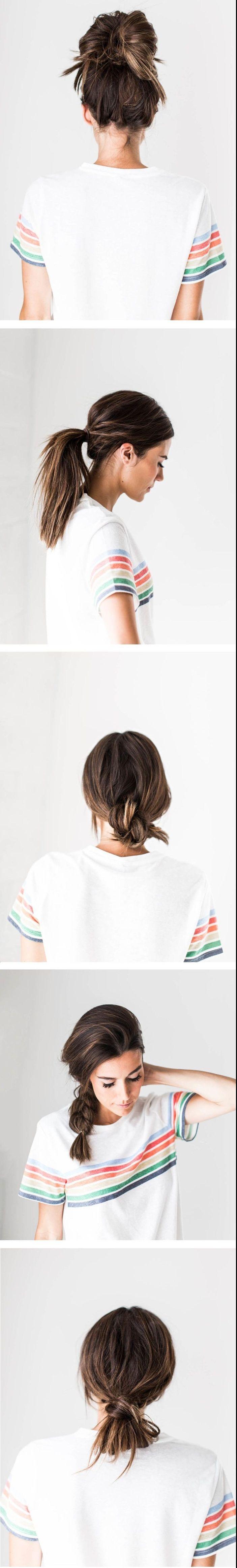 id e coiffure cinq id es pour une coiffure simple cheveux mi long pour ces jours o le temps. Black Bedroom Furniture Sets. Home Design Ideas