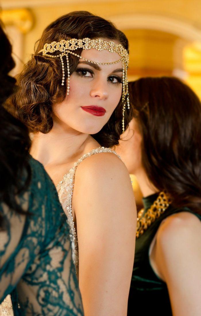Idee Coiffure Comment Mettre Un Headband Coiffure Style Gatsby