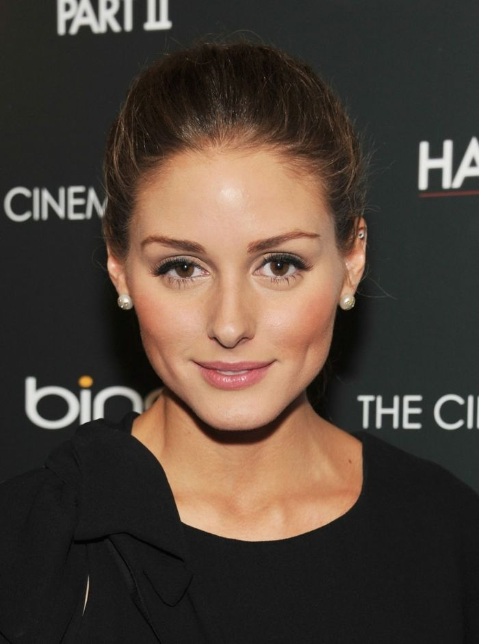 id e coiffure couleur cheveux chatain olivia palermo maquillage de tous les jours madame. Black Bedroom Furniture Sets. Home Design Ideas