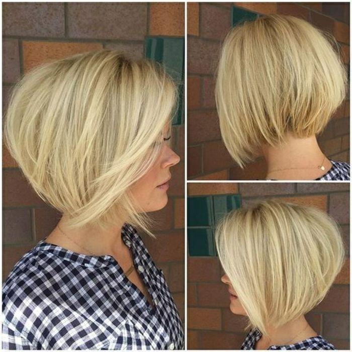 Id e coiffure coupe de cheveux femme mi long blonde en for Idee coupe cheveux 2017
