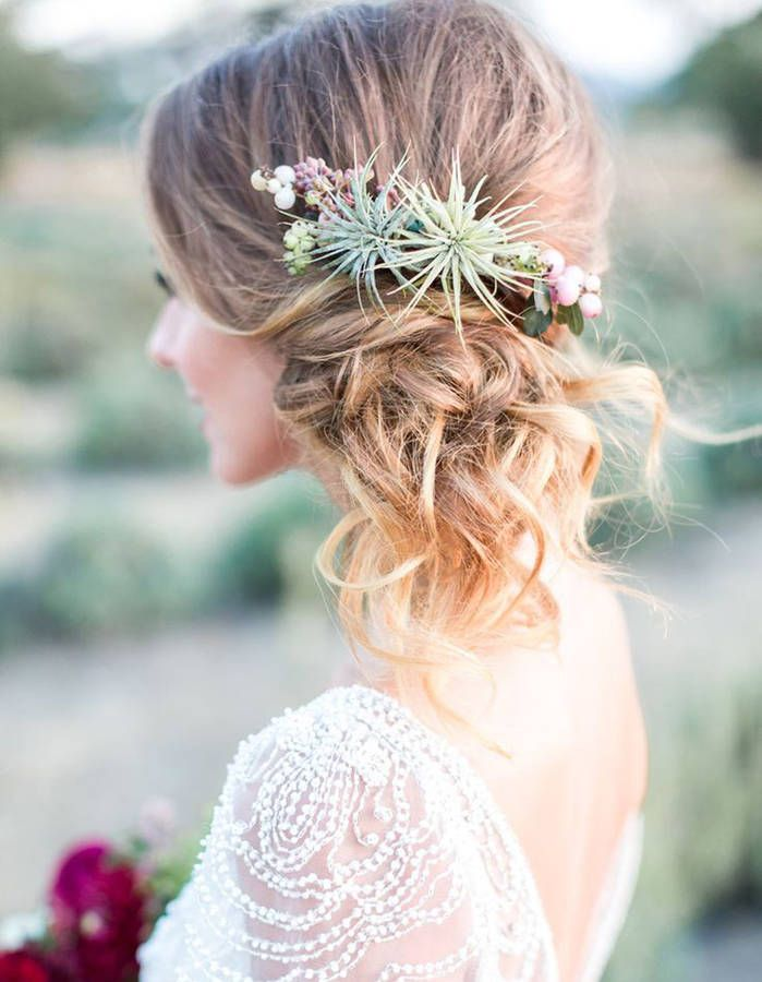 Broche Cheveux Mariage Fleur Gite Pompadour Lubersac