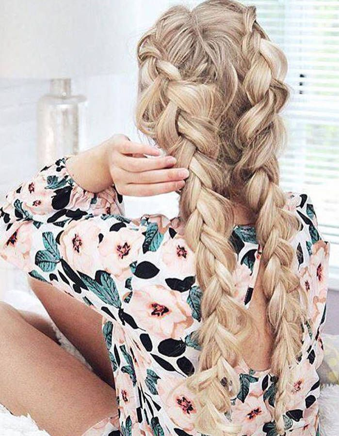 Inspiration Coiffure 2 Grosses Tresses Collees Jpg Madame Tn