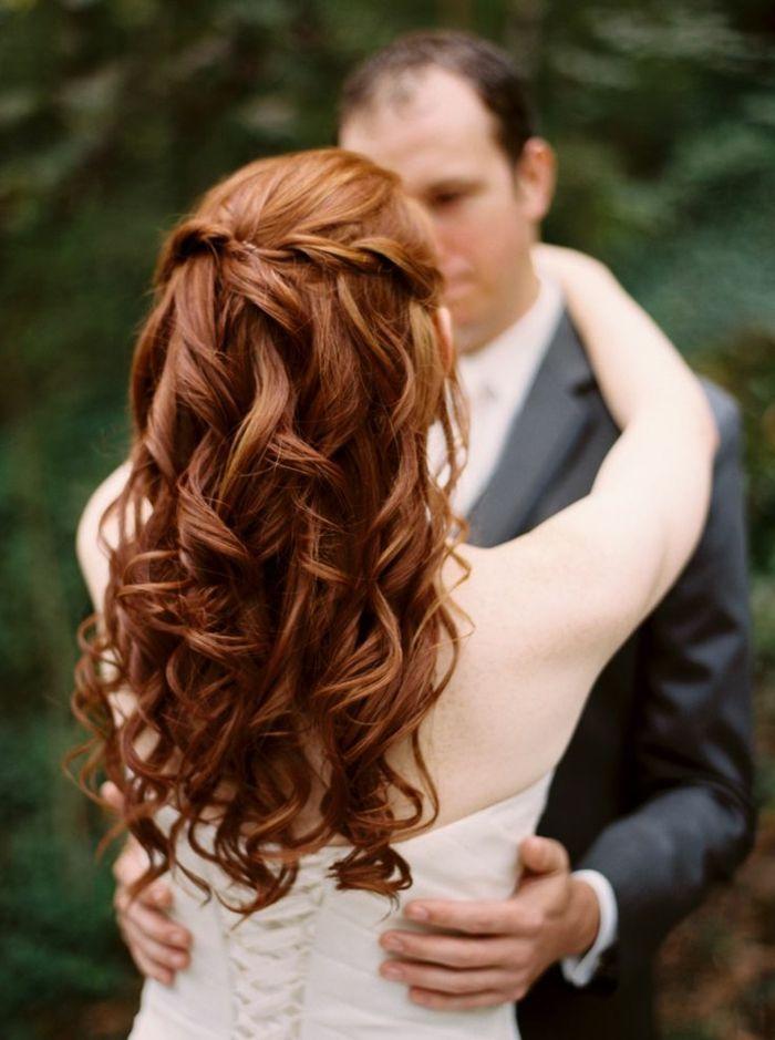 id e coiffure belle mari e coiffure mariage cheveux mi long beaut tresse et ondes cool chev. Black Bedroom Furniture Sets. Home Design Ideas