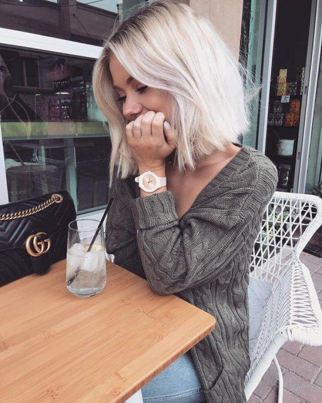 idee tendance coupe coiffure femme 2017 2018 35 nuances de blond polaire reperees sur pinterest. Black Bedroom Furniture Sets. Home Design Ideas