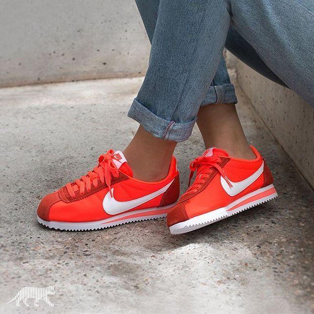 2018 Cortez 2017 Chaussures Nylon Tendance Nike Sneakers Femme u1FK3TJlc