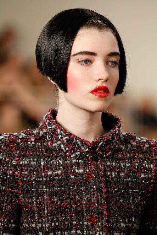 Inspiration Coiffure Le Look Beaute Chanel Haute Couture Automne