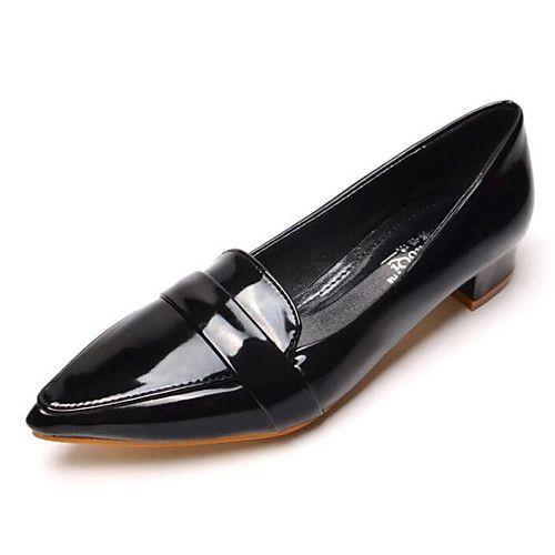 tendance chaussures 2017 2018 femme chaussures cuir verni printemps automne confort. Black Bedroom Furniture Sets. Home Design Ideas