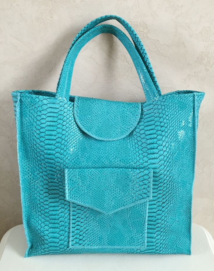tendance sac femme 2017 2018 sac bleu turquoise en simili cuir sacs main par floralice. Black Bedroom Furniture Sets. Home Design Ideas