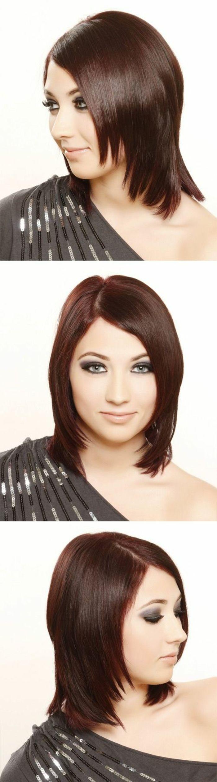 Id e coiffure quelle couleur de cheveux choisir couleur acajou cheveux coupe courte etagee - Quelle coupe de jean choisir ...