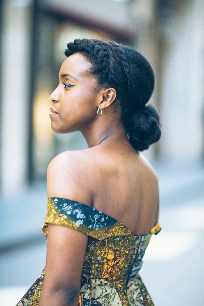 Idee Coiffure Jolie Coiffure Coiffure Avec Tresse Africaine Tresse