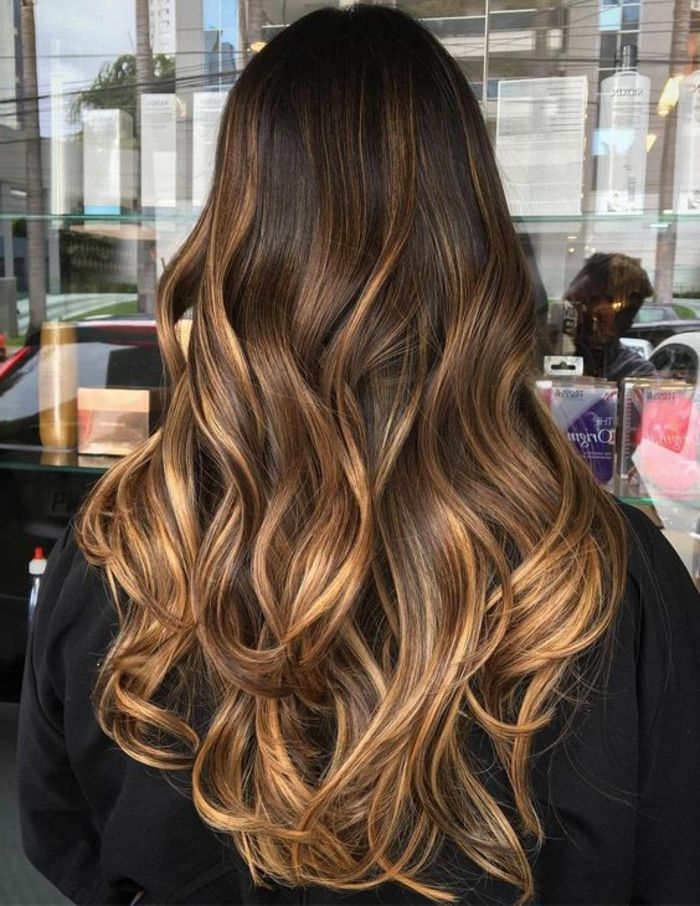 coiffure balayage caramel coiffure 2019. Black Bedroom Furniture Sets. Home Design Ideas