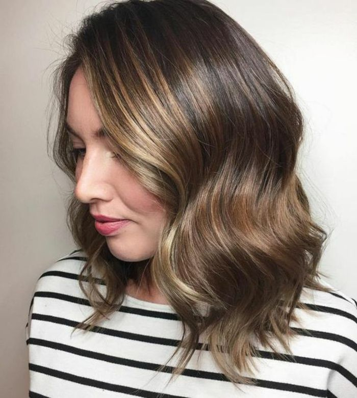 Idee Coiffure Balayage Miel Balayage Couleur Caramel Sur Cheveux