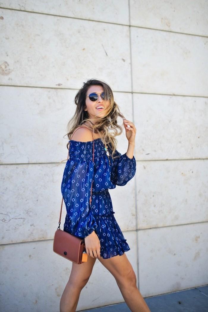 afa5e6d0816 Cool idée robe légère été 2018 tendance épaules dénudées robe droite fluide  cool idée comment s