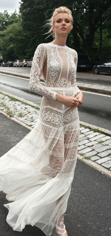 robe hippie chic dentelle, robe de mariée bohème, robe longue blanche boheme, robe longue hippie chic, manches longues