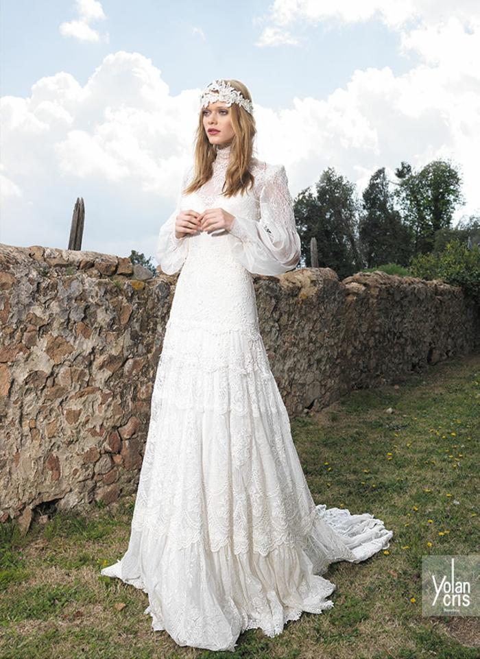 vetement hippie chic, robe longue boheme chic, robe boheme mariage, robe boheme blanche, tenue boheme chic, mariage a la campagne