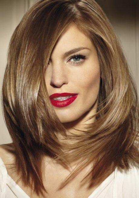 Degrade Coupe De Cheveux Femme Mi Long