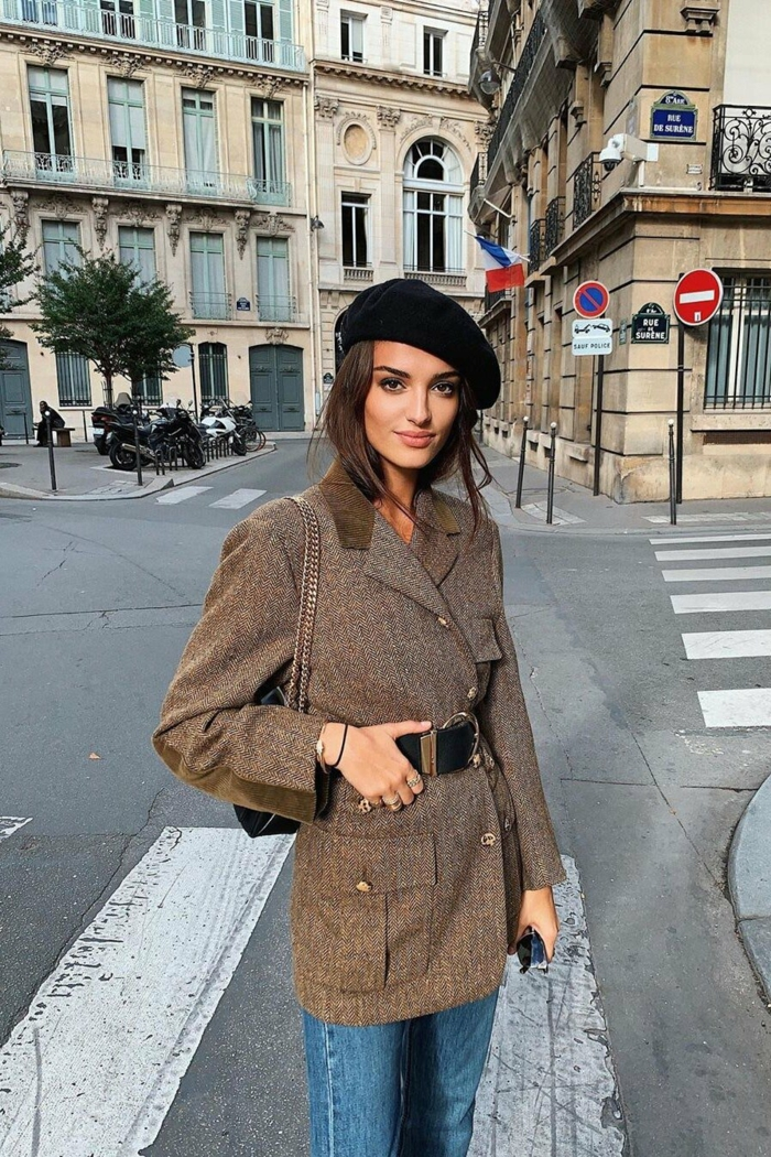 comment s habiller comme les parisiennes tenue décontractée chic femme style bcbg parisienne