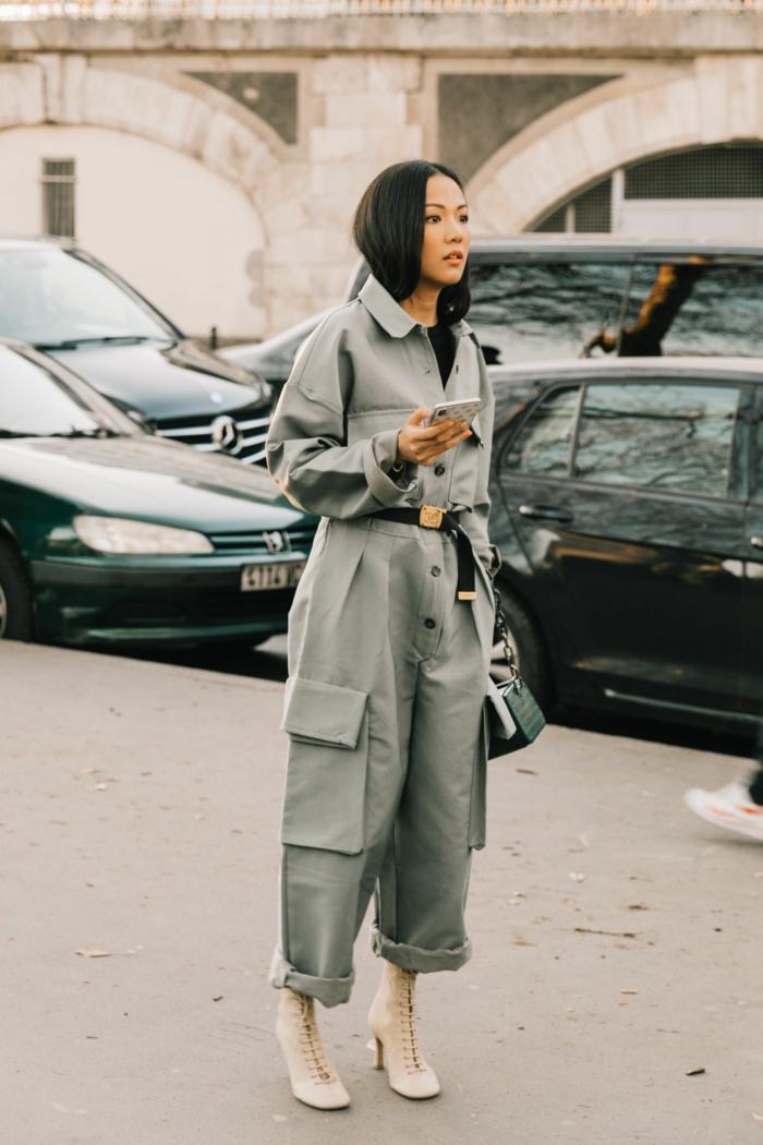 octobre a paris style parisienne chouette idée comment s habiller en automne bottines blanches