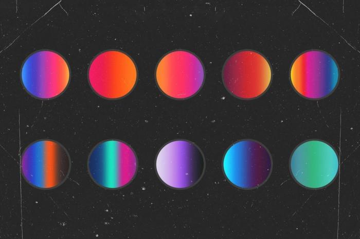 ongle fluo combinaisons possibles entre les différentes couleurs fluo